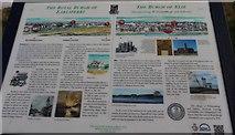 NT4899 : Information board, Earlsferry Point by Bill Kasman