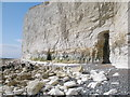 TV5496 : Coastal caves at Flagstaff Bottom, Seven Sisters by Andrew Diack