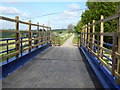 SK2255 : Bridge repair on the Pennine Bridleway near Longcliffe by Dave Kelly