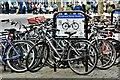 SE6051 : York: Parliament Street South bike area by Michael Garlick