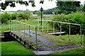 SJ3527 : Swing bridge by John Winder