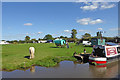 SJ9925 : Traveller site near Hixon in Staffordshire by Roger  Kidd