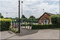 TQ1556 : Leatherhead Tennis Club by Ian Capper