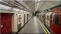 TQ2982 : Platform, Warren Street Underground Station by Rossographer