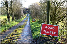 H5371 : Road closed, Bancran by Kenneth  Allen