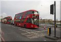 TQ3079 : Buses, London by Rossographer