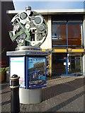 SP0687 : Public art piece named 'Clockwork' by Philip Halling