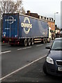 SO4383 : Owens articulated lorry in Craven Arms by Jaggery