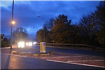 TF3903 : Roundabout on the A47, Guyhirn by David Howard