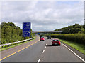 R5450 : Northbound M20 approaching Junction 3 (Raheen) by David Dixon