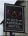 NY0504 : Sign for the Red Admiral Hotel near Gosforth by JThomas
