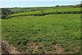 SS5527 : Farmland by Merrydale Cross by Derek Harper