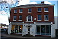 SJ2829 : Oswestry: former hotel on Church Street by Christopher Hilton