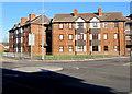 SS5099 : Three-storey housing on a Llanelli corner by Jaggery