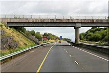 R7066 : Bridge over the M7 near Cooleen by David Dixon