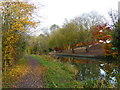 SP7288 : Towpath along the Market Harborough Arm of the Grand Union Canal by Mat Fascione