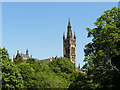 NS5666 : Tower of Glasgow University by Stephen Craven