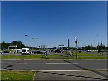NS5566 : Car park for the Riverside Museum by Stephen Craven
