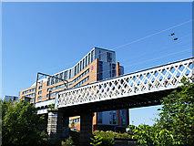 NS5566 : Railway bridge over the river Kelvin by Stephen Craven