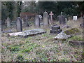 TQ5742 : St Peter's Churchyard in Southborough, Kent by John P Reeves
