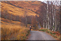 NN1960 : Old road into Kinlochleven by Jim Barton