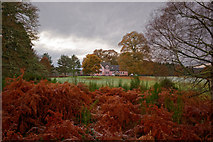 NH5143 : River Beauly Lodge by Julian Paren