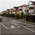 ST3090 : Pillmawr Road speed bumps, Malpas, Newport by Jaggery