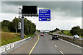 R9178 : Eastbound M7, Exit at Junction 24 by David Dixon