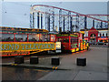 SD3033 : Western Tram at Blackpool Pleasure Beach by David Dixon