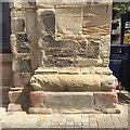 SP2864 : Building stones, County Museum, Market Place, Warwick by Robin Stott