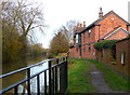 SP7389 : House along the canal by Mat Fascione