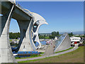 NS8580 : Visitor centre at the Falkirk Wheel by Stephen Craven