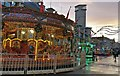 SK5804 : Carousel on Humberstone Gate, Leicester by Mat Fascione