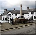SS9668 : Grade II Listed Llantwit Major War Memorial by Jaggery