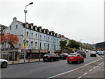 W6872 : Houses on Lower Glanmire Road, Cork by Robin Webster