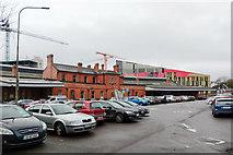 W6872 : Older buildings, Kent Station, Cork by Robin Webster