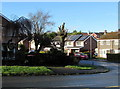 ST3090 : Rare blue sky in November 2019, Larch Grove, Malpas, Newport by Jaggery