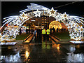 SJ8498 : The Starry Arch at Piccadilly Gardens by David Dixon