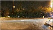 TL2271 : Huntingdon Road at the junction of Bromholme Lane by David Howard