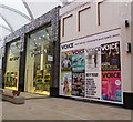 ST3187 : Voice advert in Friars Walk Shopping Centre, Newport by Jaggery