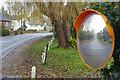 SJ7770 : Mirror on Main Road, Goostrey by Stephen McKay
