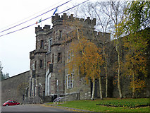 W6571 : Gatehouse, Cork City Gaol by Robin Webster