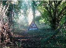 TG2105 : Path along the northern edge of Danby Wood by Evelyn Simak