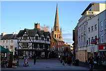SO5140 : High Town, Hereford by John Winder