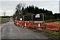 H4866 : Roadworks along Tullyrush Road by Kenneth  Allen