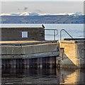 NH8857 : Nairn Harbour Breakwater by valenta
