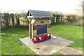 TL6342 : RAF Castle Camps airfield memorial by Adrian S Pye
