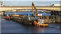 J3474 : Dredging barges, Belfast by Rossographer