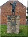 SE7803 : Statue of John Wesley, Epworth by David Hillas