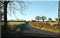 SS9627 : B3190 near Leigh Barton by Derek Harper